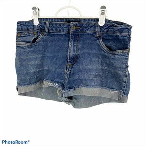 CANDY COUTURE Blue Jean Shorts